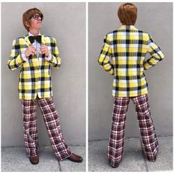 Yellow Retro Suit