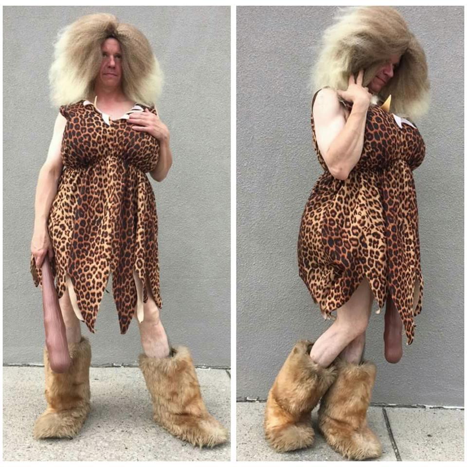 Male Cavewoman