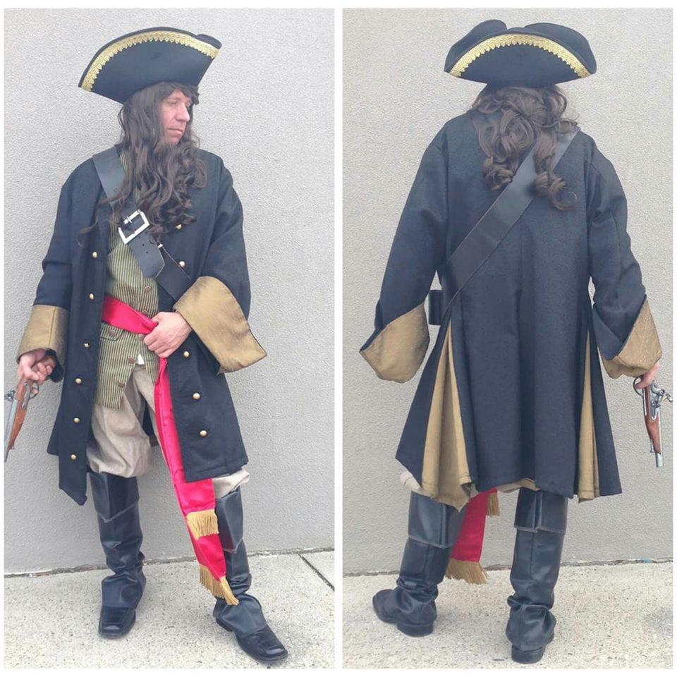 Black Brocade Pirate