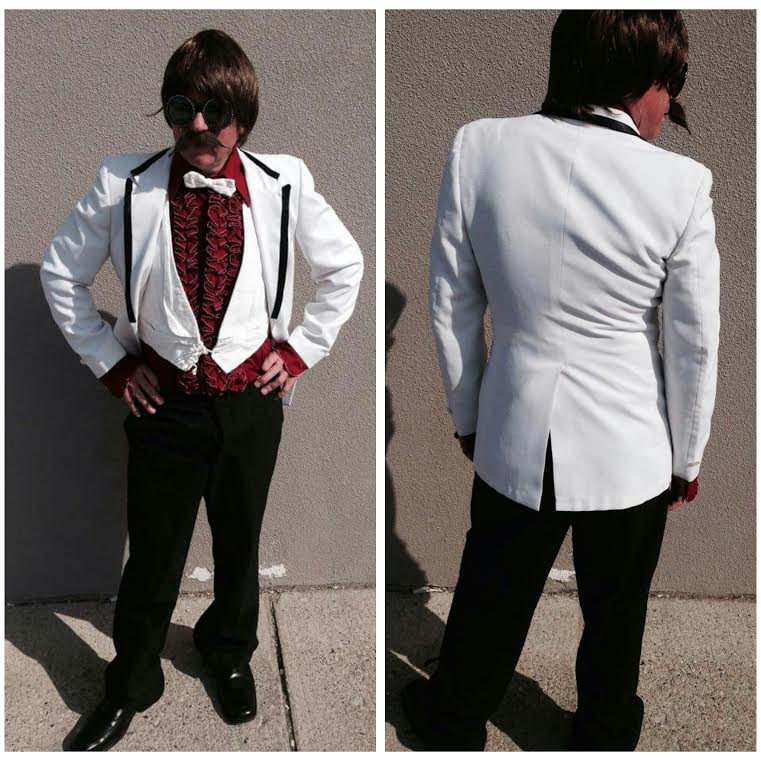 White Jacket & Pants