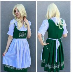 Green German Girl
