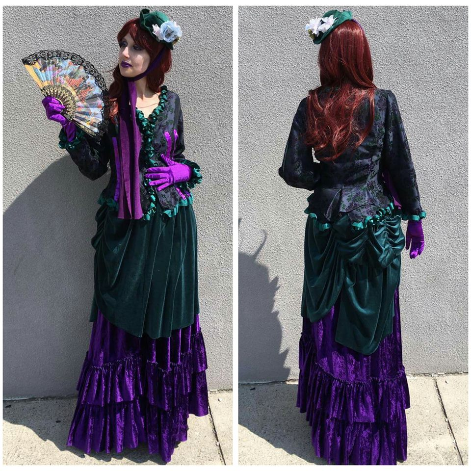 Purple & Green Victorian