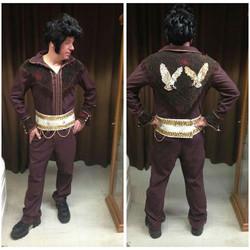 Burgundy Elvis