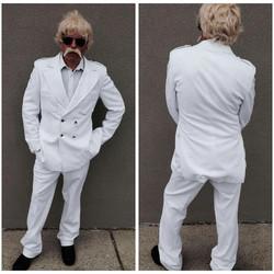 Vintage White Suit