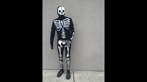 Music Reactive Custom Skeleton Suit