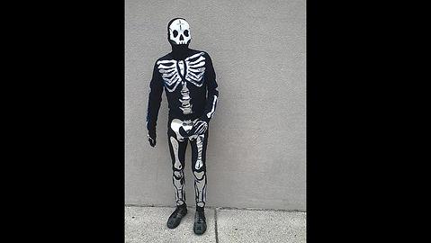 Music Reactive Custom Skeleton Suit