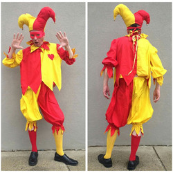 Red & Yellow Jester