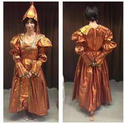 Copper Medieval Dress