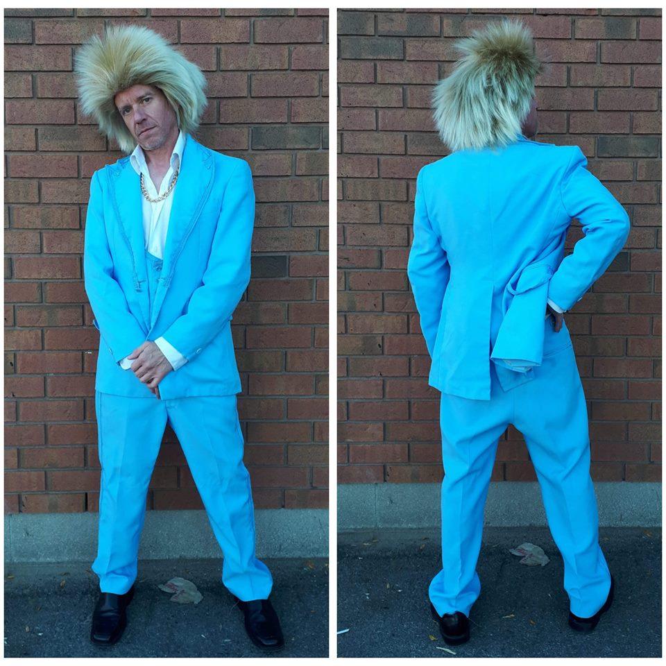 Vintage Blue Suit