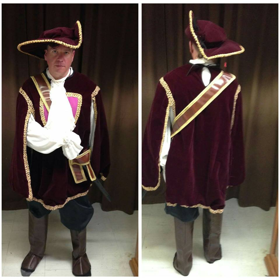 Burgundy Musketeer