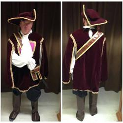 Burgundy Musketeer