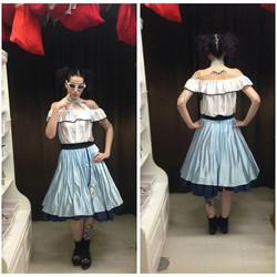 Blue 50's Dress