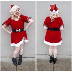 Velvet Sexy Santa Helper