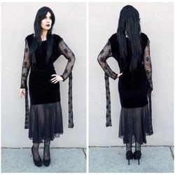 Velvet Morticia Addams