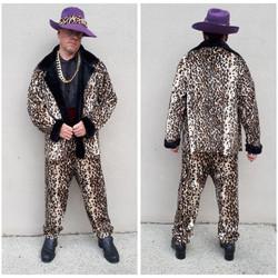 Short Coat Leopard Pimp
