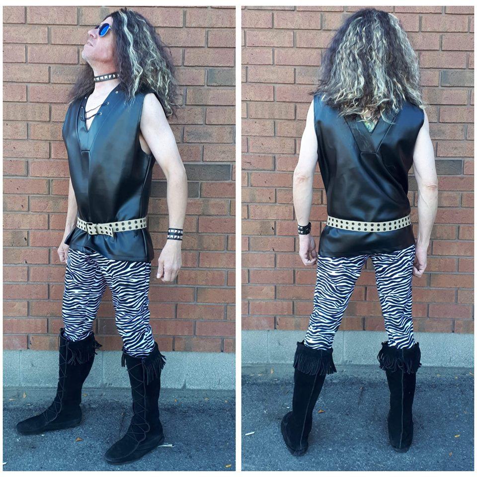 Zebras 80s Rocker
