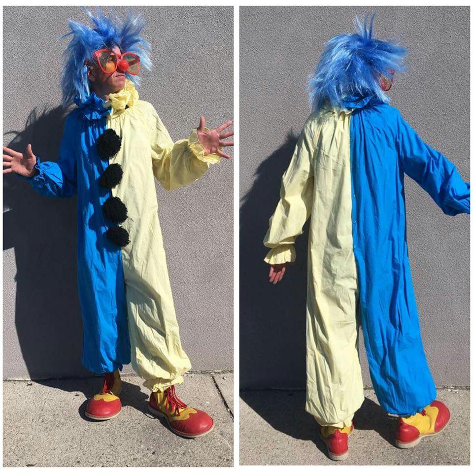 Blue & Yellow Clown