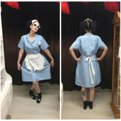 Blue 50's Waitress