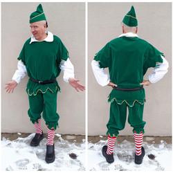Green Velvet Elf