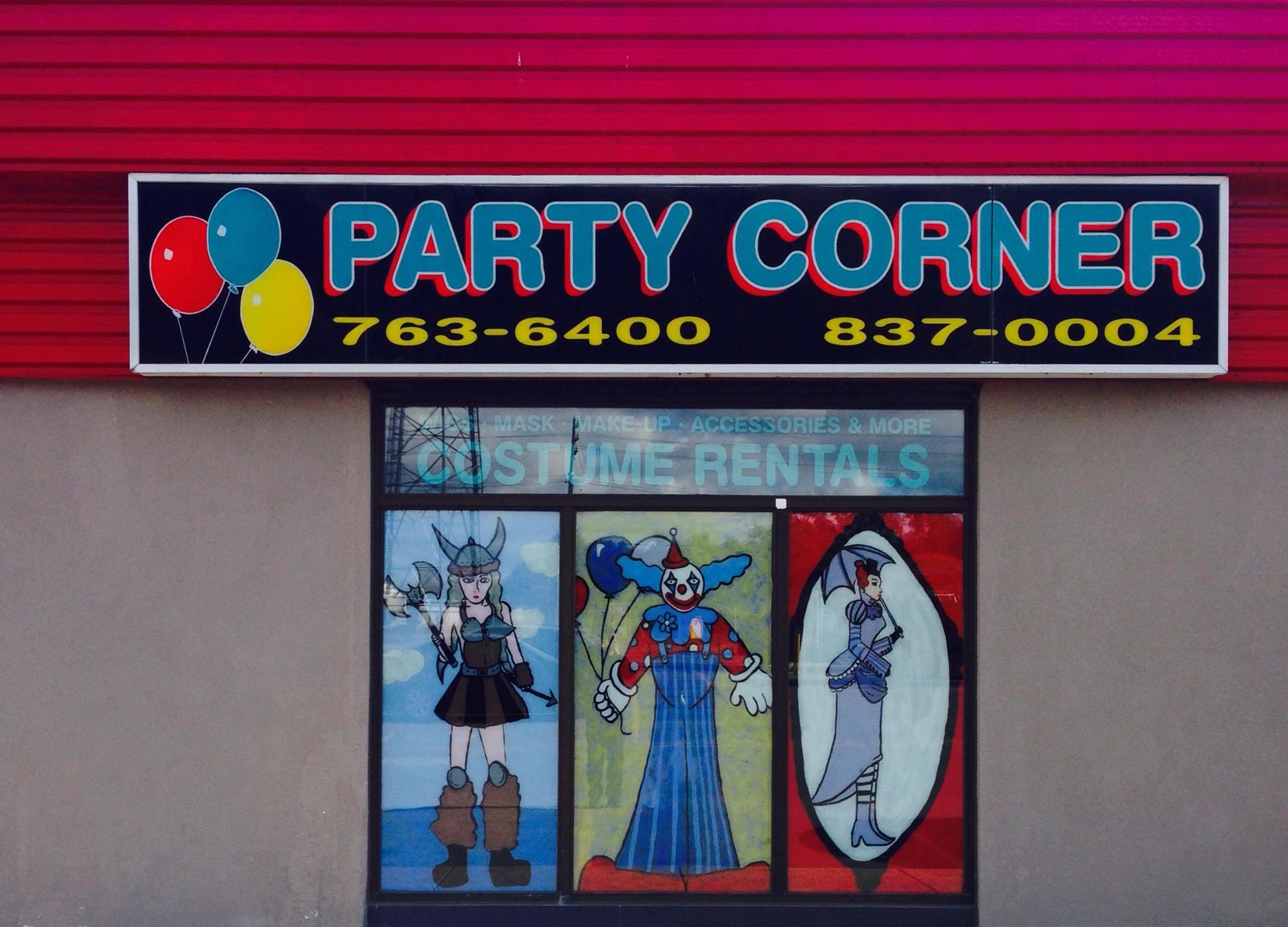 Party Corner Costumes