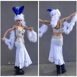 White Showgirl