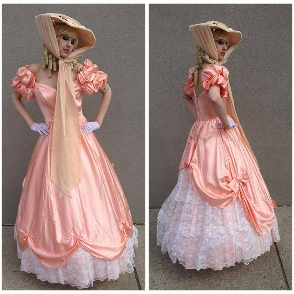 Peach Victorian