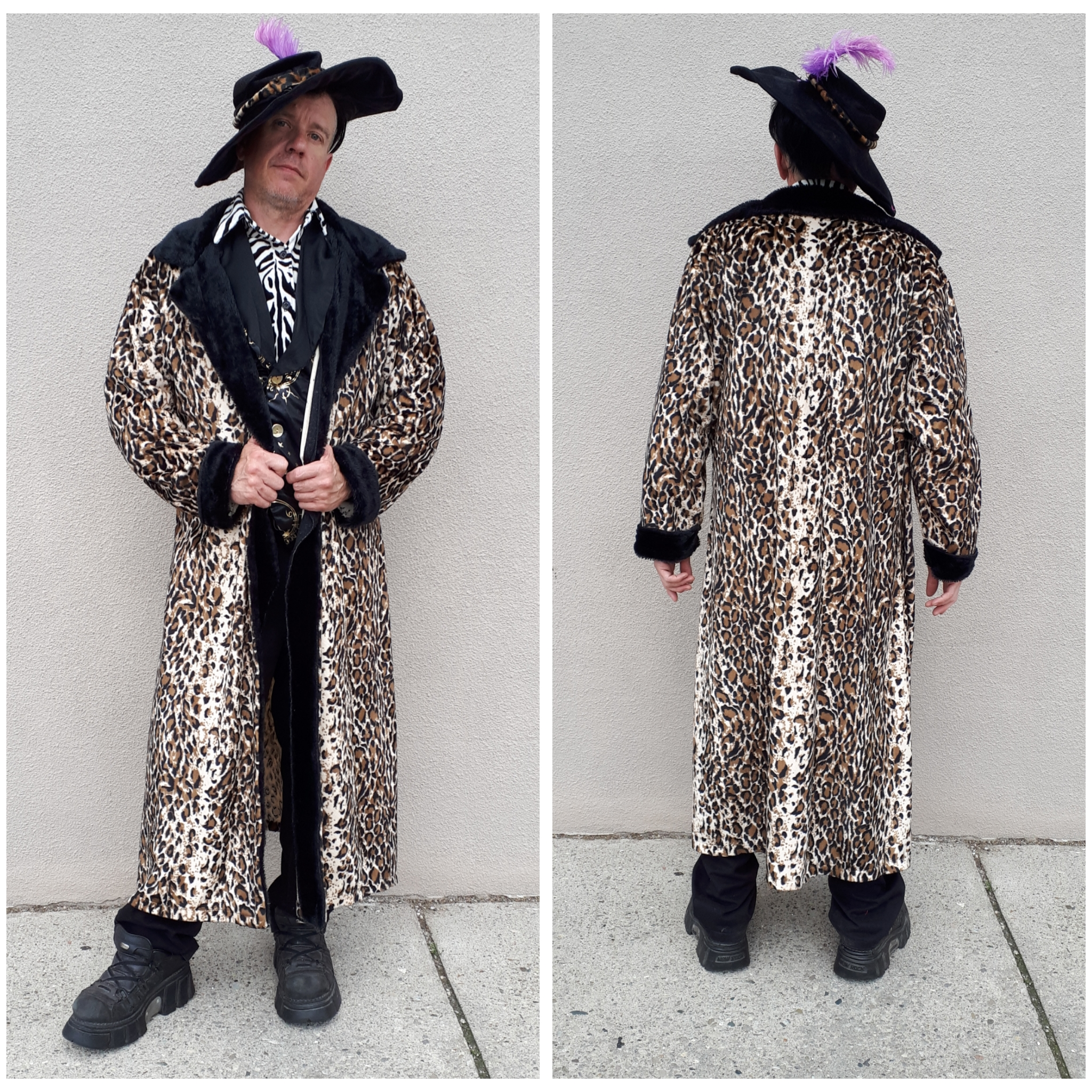 Long Coat Leopard Pimp