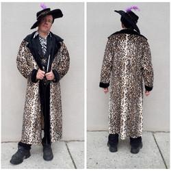 Long Coat Leopard Pimp