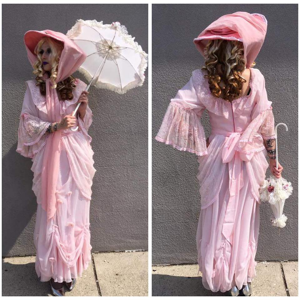 Pink Victorian Lady