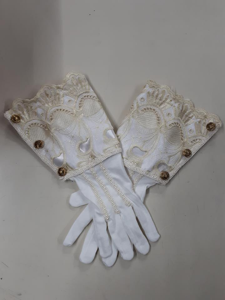 1700s Gentleman's Gloves