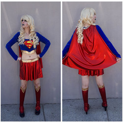 Two Piece SuperGirl