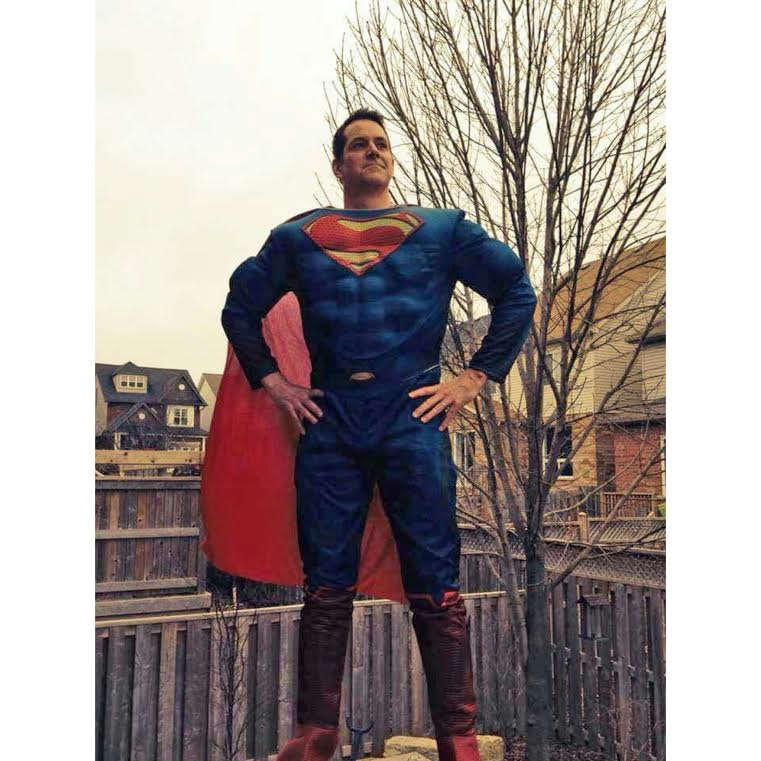 Muscle Chest Superman