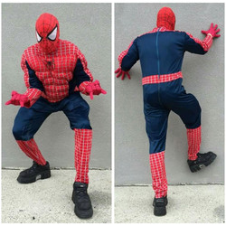 Muscle Chest Spiderman