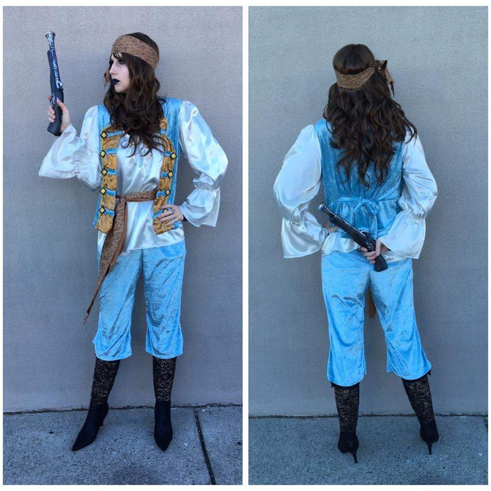 Blue Pirate Queen