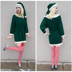 Green Santa Helper