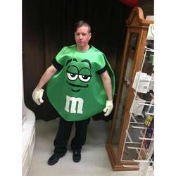 Green M&M