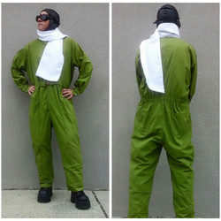 Green Flight Suit