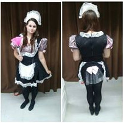 Pink & Black French Maid