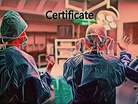 Médicos especialistas están obligados por la Ley a certificarse para poder ejercer su especialidad
