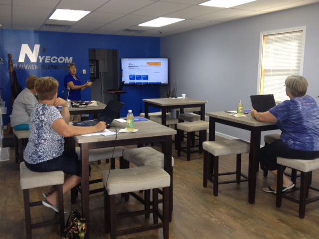 Class held at NYECOM Tech Center