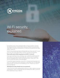 NYECOM Managed Wi-Fi Security Doc