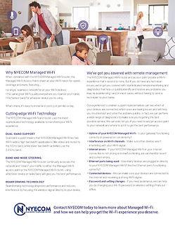 NYECOM Managed Wi-Fi Information