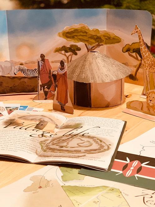 Pop up and play - Travel the world with me - Kenya and the Maasai Mara