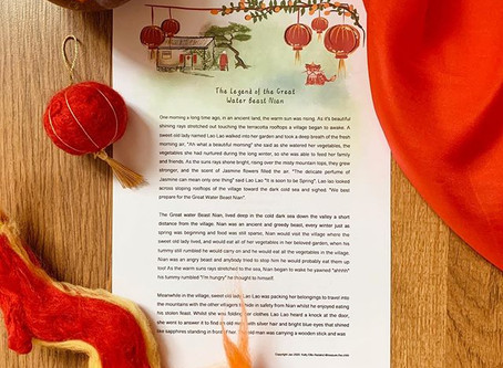 Free Chinese New Year Story