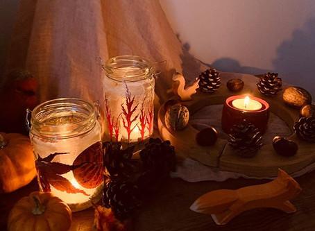 Beautiful Natural Autumn Lanterns