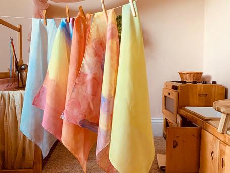 Watercolour Play Silks