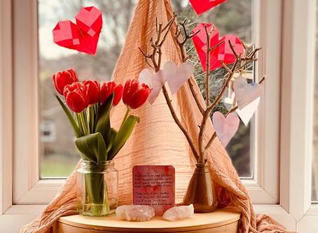 Valentine Celebration Display
