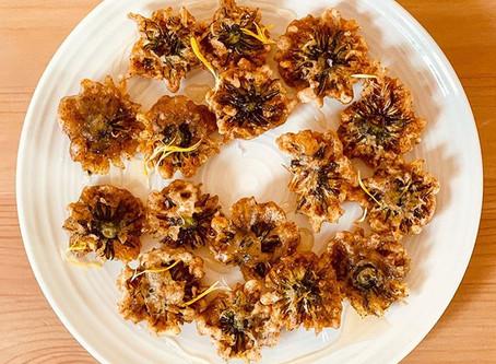 Deep Fried Dandelions