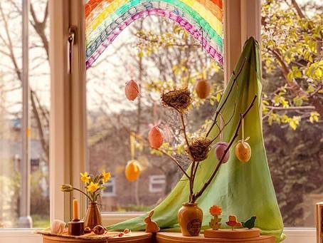 Our Easter Seasonal Display