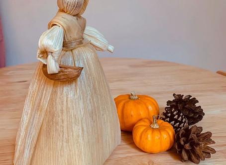 Corn Dolly Harvest Craft.